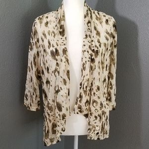 Easywear Chico's Open Front Cardigan 2 Lightweight